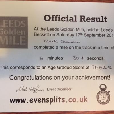Leeds Golden Mile