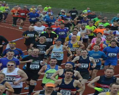 Newton's Fraction Half Marathon