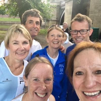York Millennium Bridge 5k