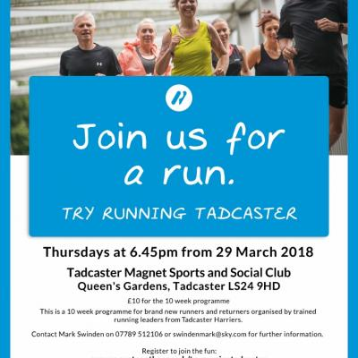 New Beginners Group - Try Running Tadcaster