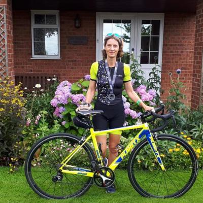 Claire's Triathlon Challenge